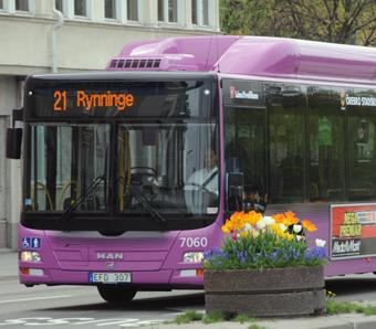 Tätortstrafiken i Örebro ska upphandlas våren 2018 för trafikstart i augusti 2019. Foto: Ulo Maasing.