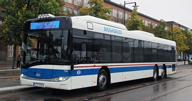 Västerås Lokaltrafik har beställt ytterligare tolv bussar från Solaris. När de är levererade kommer företaget att ha 111 Solarisbussar i sin vagnpark.