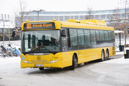 REgionbussarna i Uppsala län kan komma att kompletteras med anropsstyrd trafik. Foto: Ulo Maasing.