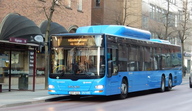 Dödsdömt. Borås Lokaltrafik har efter flera års rättsliga turer slutligen förlorat trafiken i Borås. Foto: Ulo Maasing.