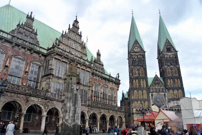 Bremen –populärt resmål för svenskar. Foto: Ulo Maasing.