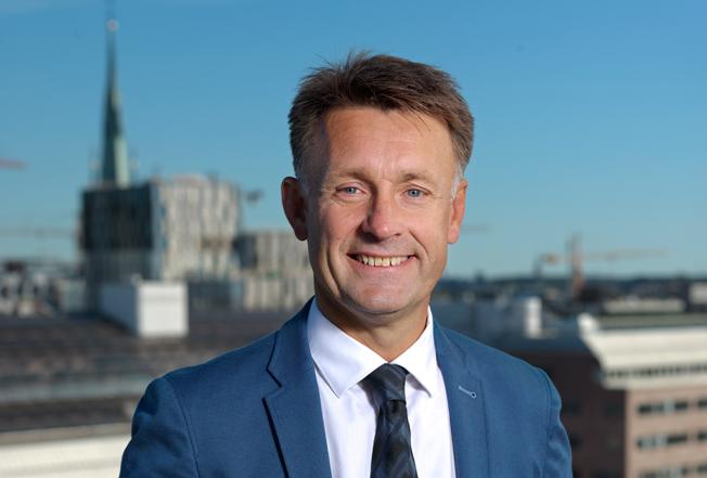 Micael Svensson har utsetts till ny vd för Cityterminalen i Stockholm. Foto: Jernhusen.