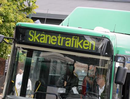 All stadsbusstrafik i Skåne körs nu fossilfritt, uppger Skånetrafiken. Foto: Ulo Maasing.