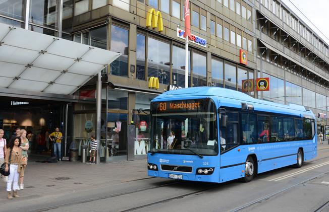 Ska säljas. Det kommunägda GS Buss AB ska avyttras har politikerna i kommunfullmäktige beslutat. Foto: Ulo Maasing.