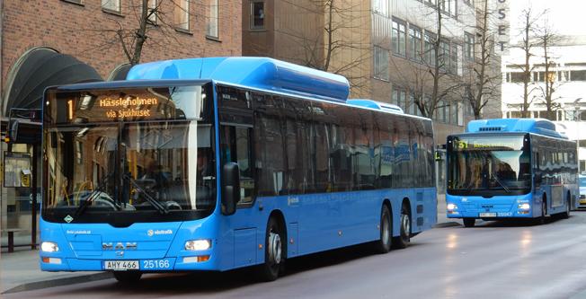 Biljettkontrollerna ska utökas inom Västtrafik. Foto: Ulo Maasing.