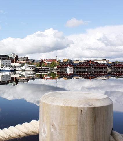 Luleå, Härnösand och Höga Kusten har visat sig vara populära kryssningsmål. Foto: Birka Cruises.