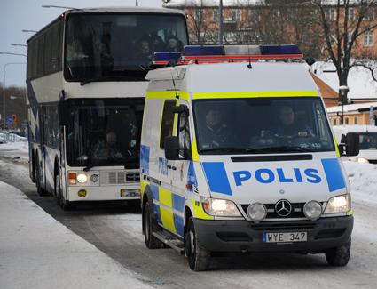 Den europeiska trafikveckan innebär skärpt kontroll av yrkestrafiken. Arkivbild: Ulo Maasing.