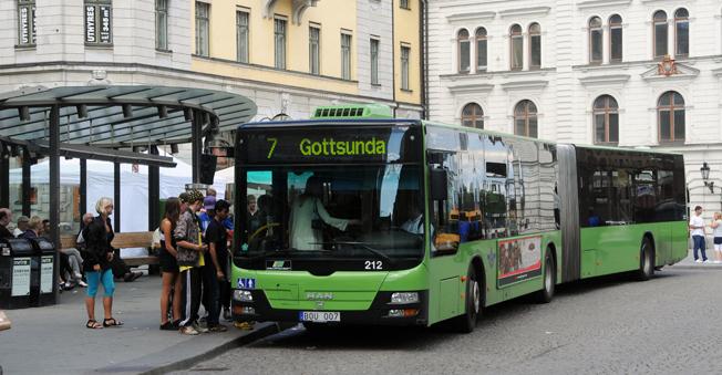 Resandet ökar i kollektivtrafiken, men kostnaderna ökar snabbare. Utbudet står inte i relation till resandet, konstaterar Transportstyrelsen. Foto: Ulo MAasing.