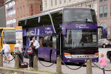 I genomsnitt är nästan varannan plats tom i den långväga, kommersiella busstrafiken. Foto: Ulo Maasing.
