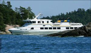 Genom Skärgårdsbolaget ska Gotlandsbolaget trafikera öar i Stockholms skärgård.