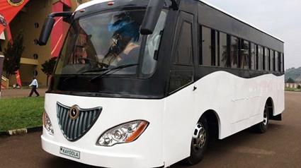 Kiira Motors i Uganda lanserar en buss som ska drivas av den afrikanska solen.