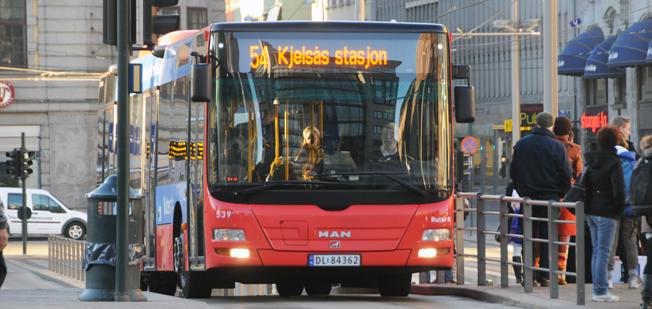 Norge är på väg att införa en standard för bussar för kollektivtrafik. Foto: Ulo MAasing.