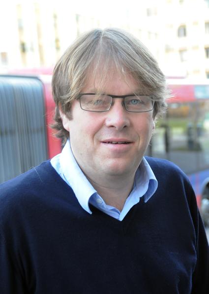 Terje Sundfjord, chef för Brakar, trafikhuvudman i det norska länet Buskerud. Foto: Ulo Maasing.