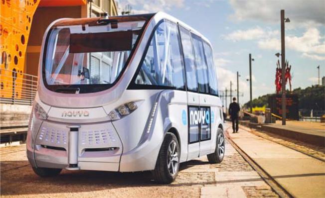 Den danska staden Aalborg planerar att starta trafik med förarlösa bussar i början av 2018. Bild: Aalborg Kommune.
