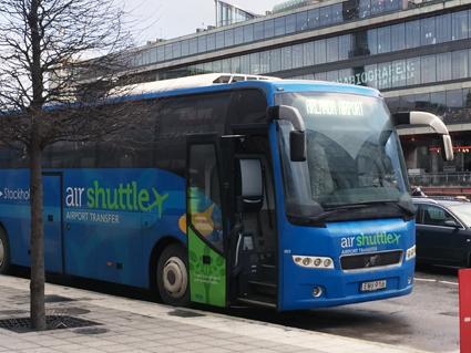 Air Shuttle har lagt ner trafiken mellan Stokcholm och Arlanda från och med torsdagen. Foto: Ulo Maasing.