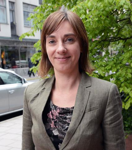 Christiane Leonard, vd för den tyska bussbranschens organisation BDO: Vi kräver öppna gränser i Europa. Foto: Ulo MAasing.