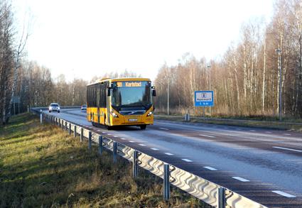 Värmlandstrafik: Oacceptabelt att bussförare inte använder bälte. Foto: Värtmlandstrafik.