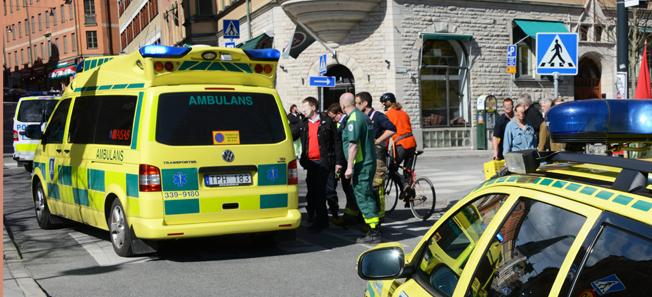 En stor del av den svenska blåljuspersonalen tvivlar på förmågan att hantera en terrorattack mot kollektivtrafiken. Arkivbild: Ulo Maasing.