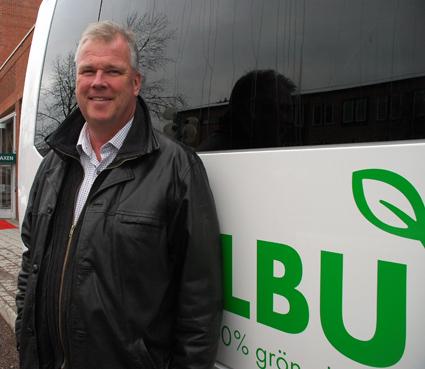 Bengt Benjaminsson är produktionschef på Dalatrafik. Foto: Paula Isaksson.