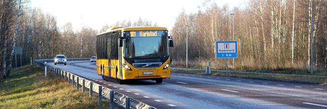 Värmlandstrafik planerar att hyra ut vikbara cyklar. Foto: Värmlandstrafik.