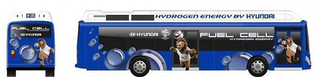 I samarbete med HYundai vill Sydkoreas regering ersätta 26 000 gasbussar med bränslecellsbussar.