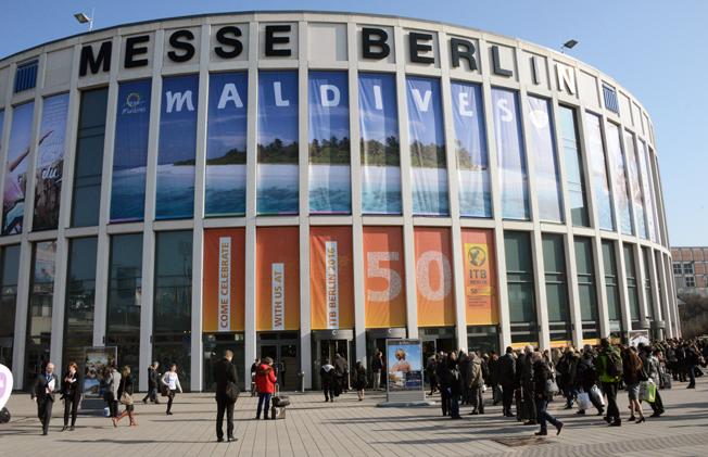 Årets ITB-mässa i Berlin räknade in rekordmånga 120 000 fackbesökare och dessutom60 000 allmänhet. Foto: Ulo Maasing.