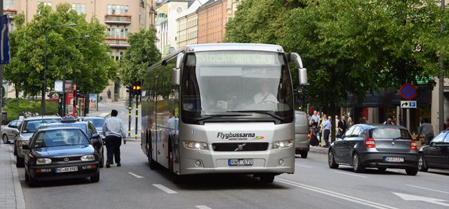 Flygbussarna lanserar nu en ny betallösning via digital plånbok. Foto: Ulo Maasing.