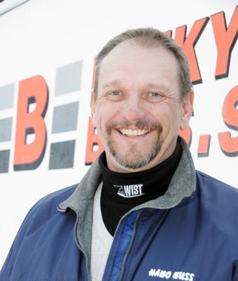 Mats Mattsson och hans Håbo Buss fortsätter att expandera runt Mälaren. Foto: Ulo Maasing.