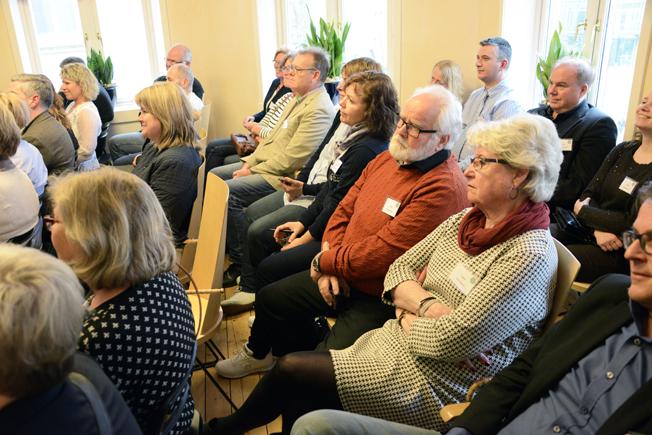 Intresset var storty för de seminarier som Rese-Konsulterna höll.