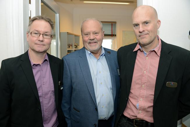 Bengt Ohlsson, Forellenresor, togs om hand av Rese-Konsulternas Toffe Lindskog och Per Göransson.