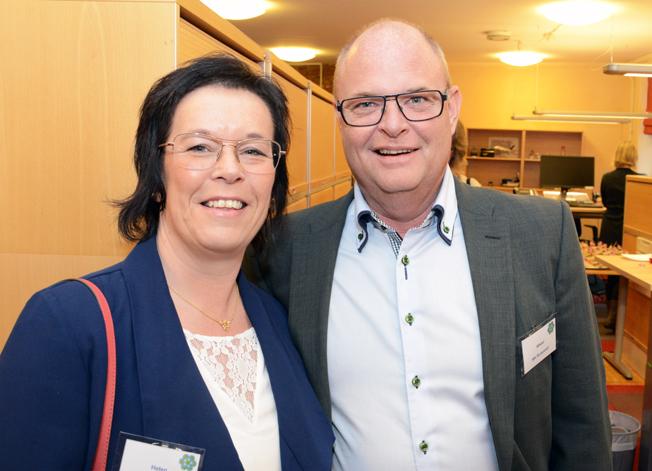 MK Bussresors Helen och Mikael Bergh.