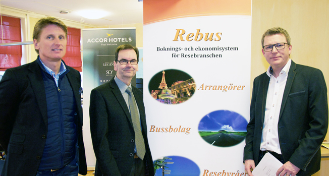 Rese-Konsulternas vd Göran Grell gör gemensam sak med Anders Hibell, Empir Solutions och Daniel Åberg, Åbergs Data.