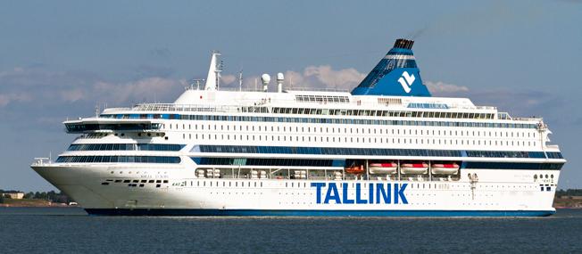 Silja Europa är åter på Östersjön och seglar nu mellan Helsingfors och Tallinn. Foto: Tallink Grupp.