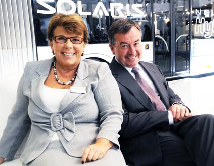 Paret Solange och Kryzstof Olszewski grundade Solaris. Alltjämt är företaget familjeägt. Foto: Ulo MAasing.
