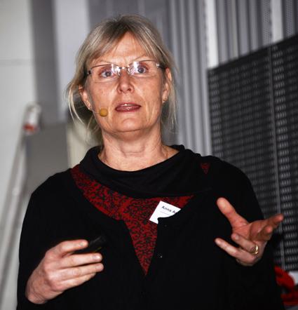 Anna Anund, forskare vid VTI: Trötthet bland bussförare är ett stort problem. Foto: Ulo Maasing.