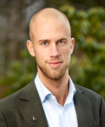 Riksdagsledamoten Karl-Oskar Bohlin(M) JO-anmäler länsstyrelsen i Dalarna. Foto: Peter Knutson.
