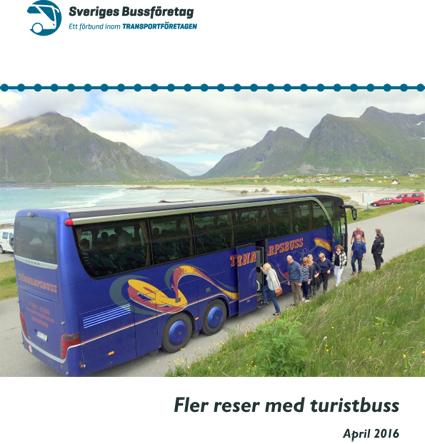 Turistbussarna får fler resenärer, konstaterar Sveriges Bussföretag i den årliga rapporten om bussturismen.