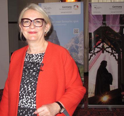 Petra Hedorfer är chef för Deutsche Zentrale für Tourismus: Utvecklingen har överträffat våra egna förväntningar.