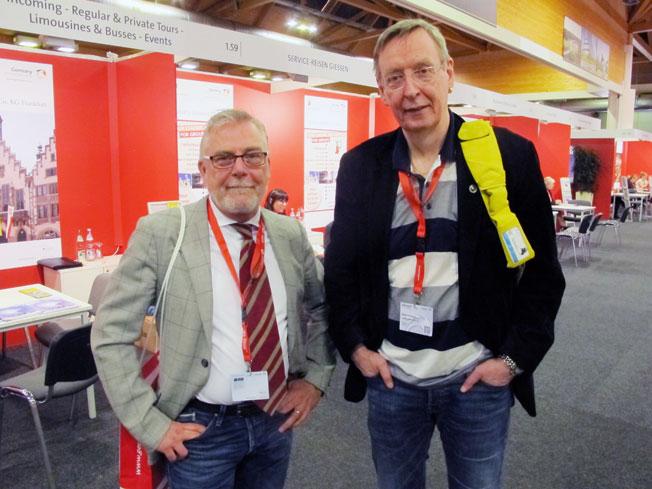 Mikael von Leitgeb, Ölvemarks/Scanorama tillsammans med Bengt Holmquist, Excalibur-Tours.