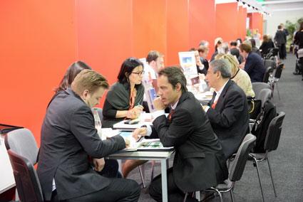 Omkring 300 tyska företag och destinationer mötte 500 internationella köpare och journalister på GTM.