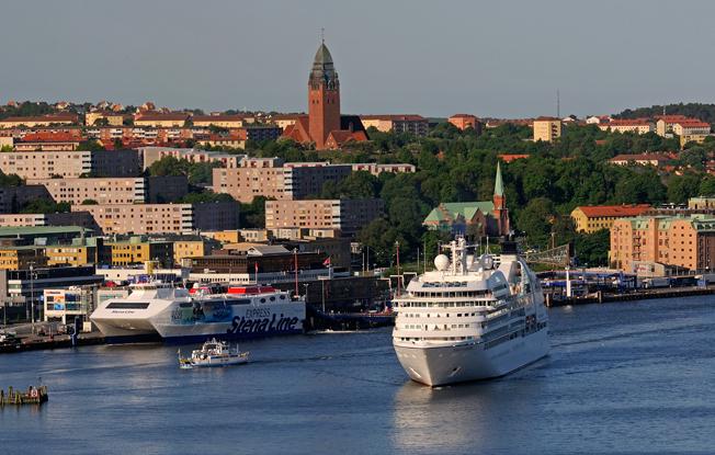 Göteborg backar som kryssningsdestination. Foto: Göteborgs hamn.