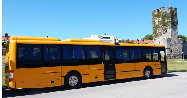 Det blir dyrare att betala på bussen på Gotland från den 1 maj. Foto: Ulo MAasing.