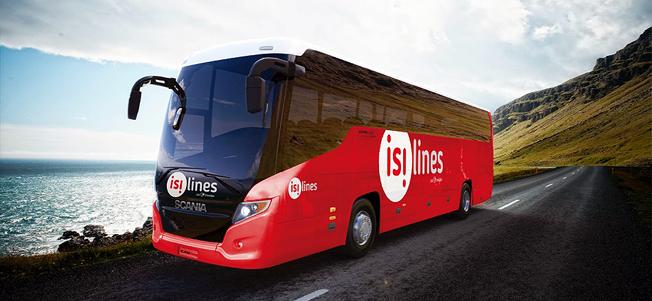 Isilines är Transdev snabbt växande expressbusstrafik i Frankrike och grannländerna. Nu satsar man på ett avancerat system för biljetthanteringen, Tpillet. Foto: Isilines.