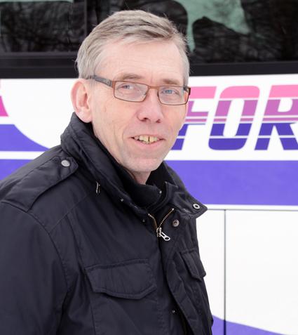 Ken Forsberg, Forsbergs Buss. Foto: Ulo Maasing.