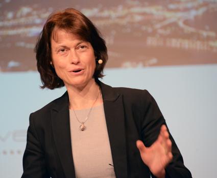 Ericssons forskningschef Sara Mozur. Foto: Ulo Maasing.