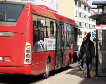 Luleå väntas få sin först elbusslinje nästa år. Foto: Ulo Maasing.