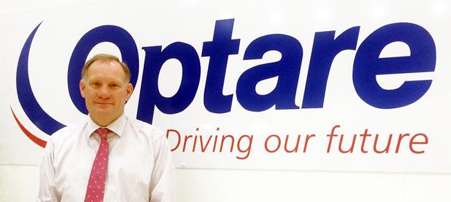 Graham Belgum, ny ordförande för busstillverkaren Optare.