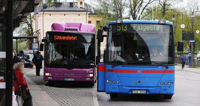 Busstrafiken i Örebro län kan i framtiden komma att köras i egen regi av regionen. Foto: Ulo Maasing.