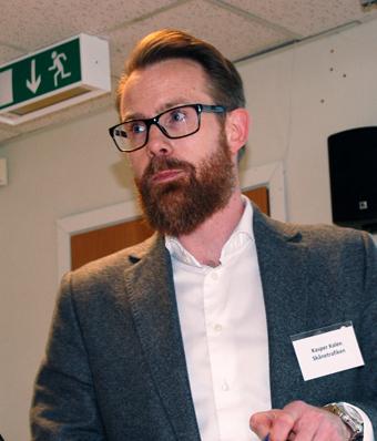 Kaspar Kalén från Skånetrafiken