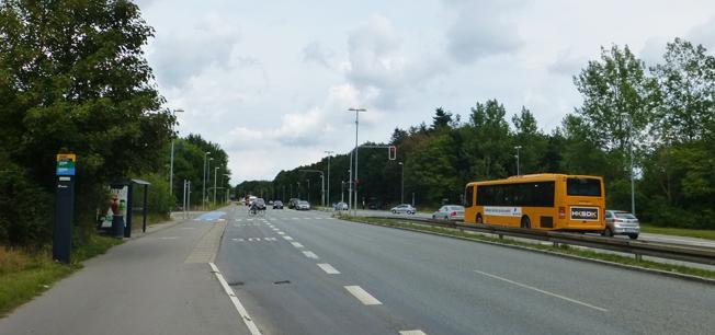 Här på Nordre Ringvej, en del av Köpenhamns Ring 3, ska en framtida spårväg eller BRT-linje dras fram. Foto: Leif Jørgensen/Wikimedia Commons.